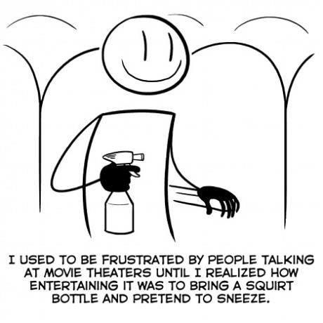 movie theatre squirt